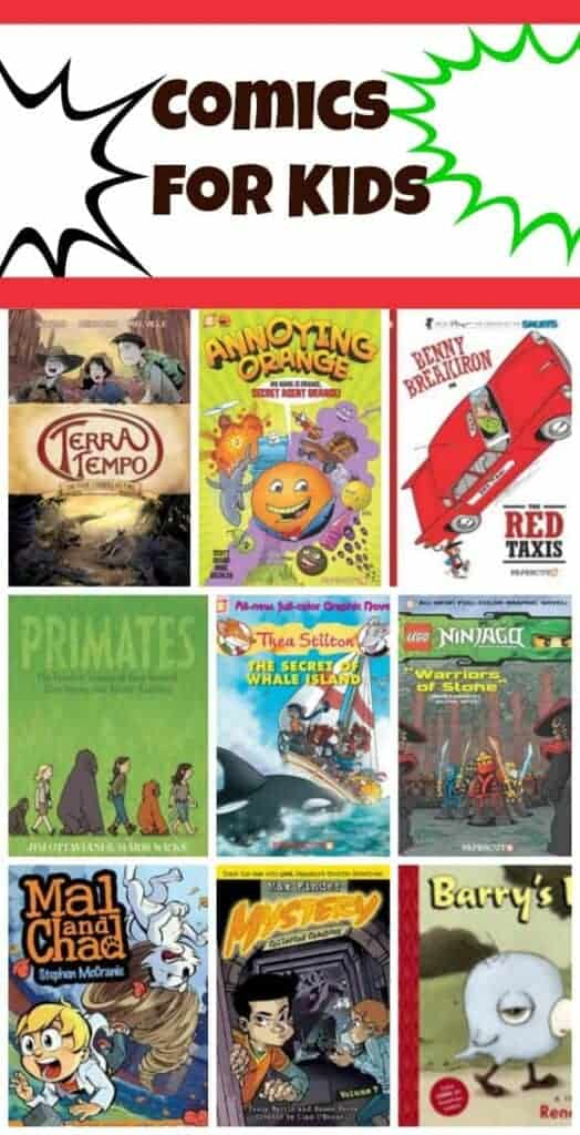 Fun Toys For 11 Year Olds : New comics and graphic novels for summer reading