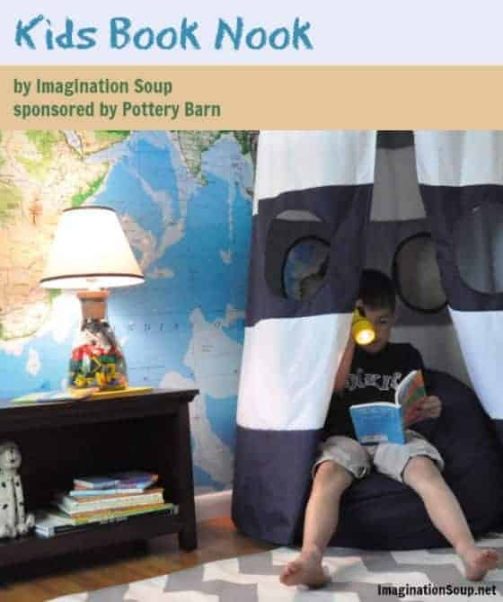 Kids Book Nook Ideas