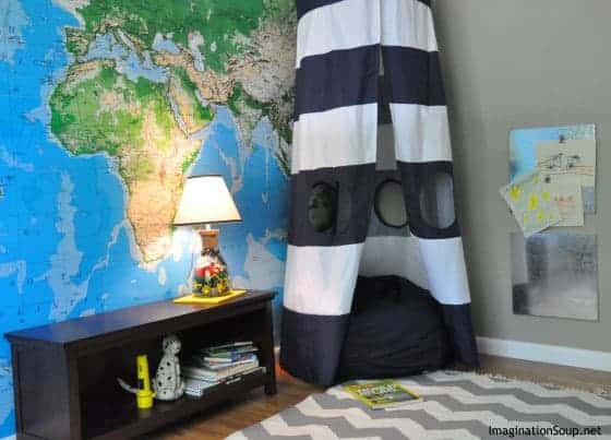reading book nook for kids