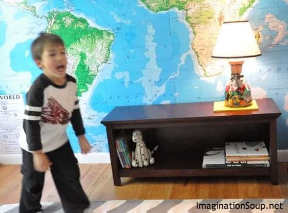 how to create a reading book nook for kids