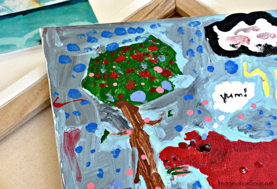 DIY Art Camp: Painting on Canvas