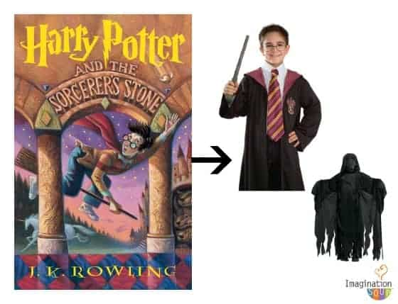 Harry Potter costumes  sc 1 st  Imagination Soup & Book Character Halloween Costumes for Kids and Teens