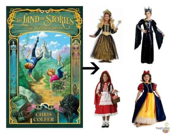 Land of Stories costumes