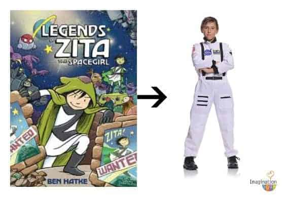 Zita the Spacegirl costume
