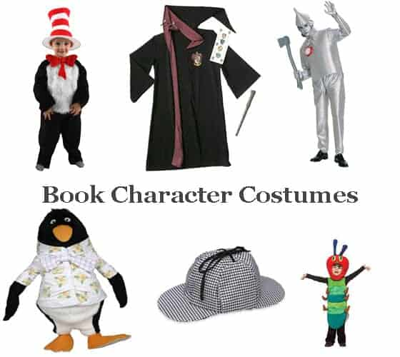 Book Character Design Tips : Picture book character costumes for halloween