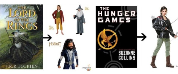 Book Character Halloween Costumes for Kids and Teens
