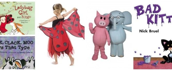 Picture Book Character Costumes for Halloween