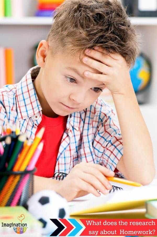 what does the research say about homework and why I hate it