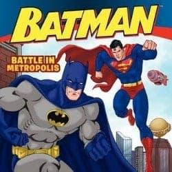 Batman Battle in Metropolis