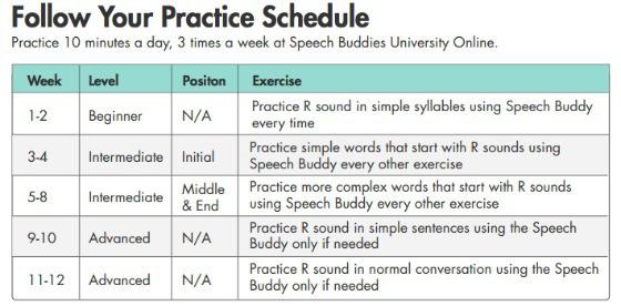 Speech Buddies Online University