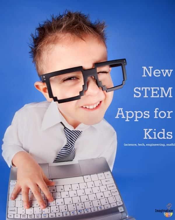 new STEM apps for kids