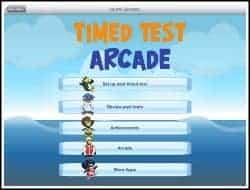timed test arcade app
