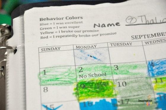 Behavior Colors