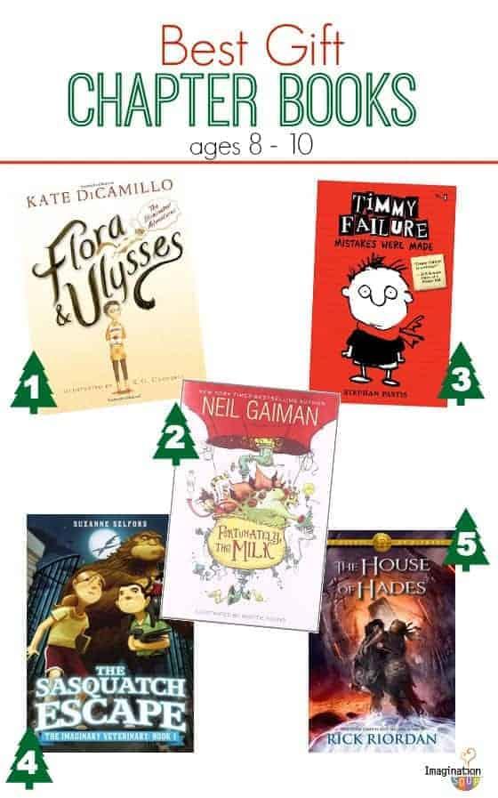 Best Gift Chapter Books 2013