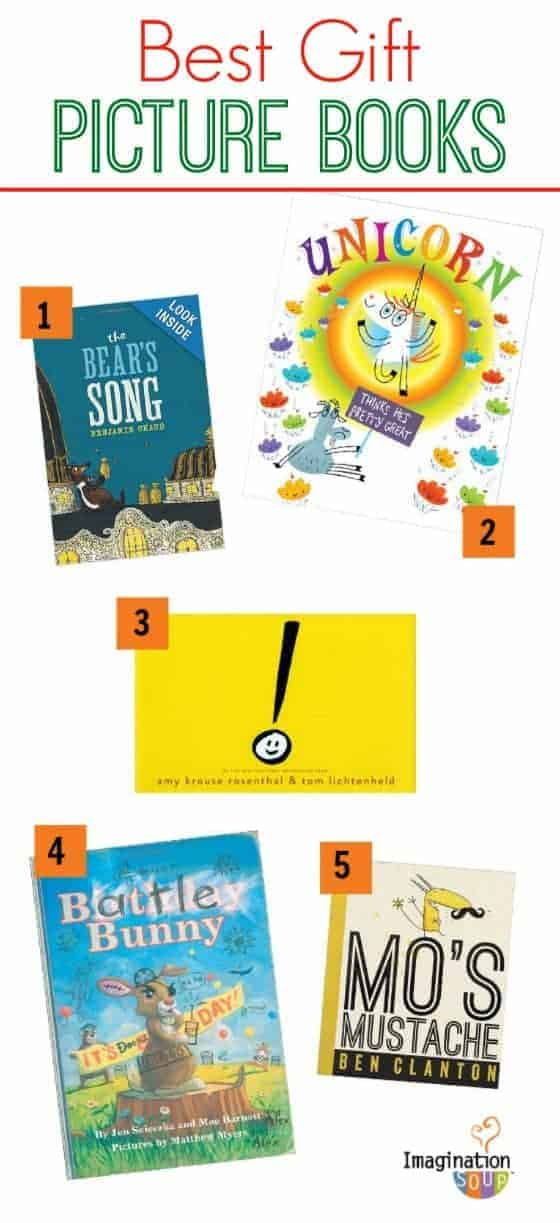 Best Gift Picture Books 2013