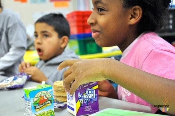 Eating Breakfast in Class
