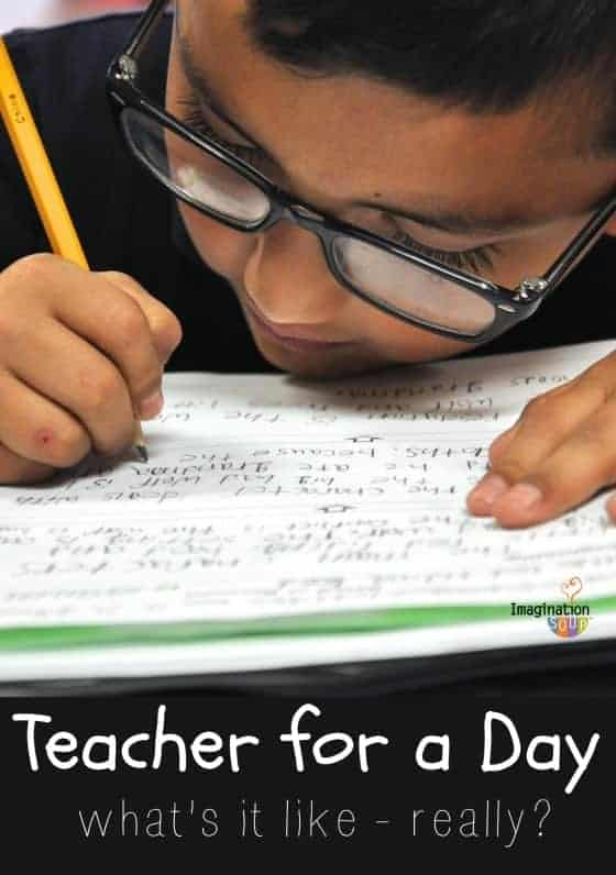 Teacher for a Day - what it's really like