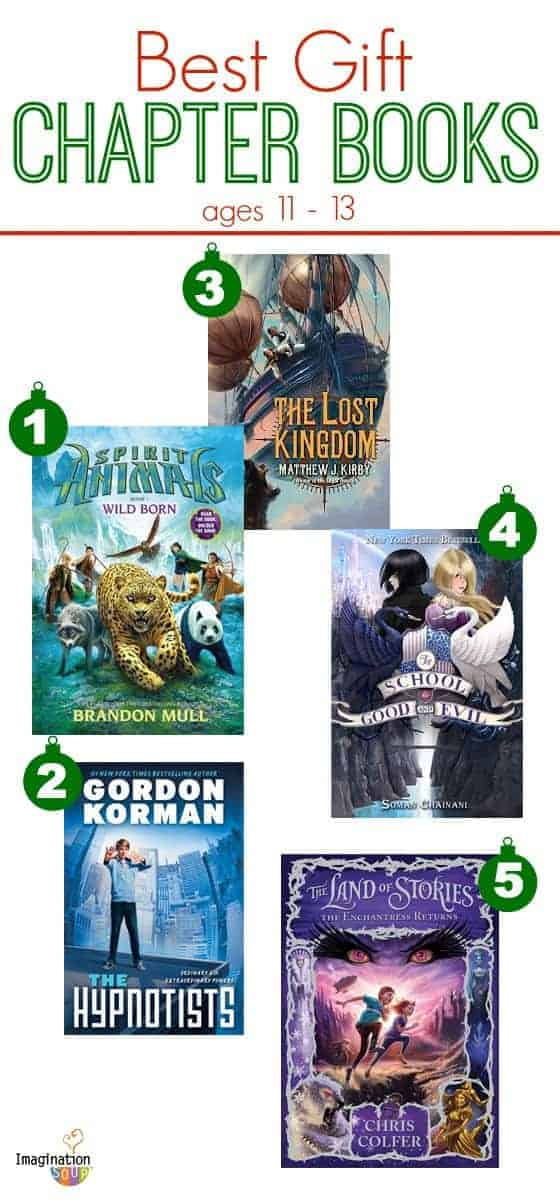 best gift chapter books 2013 ages 11 - 13