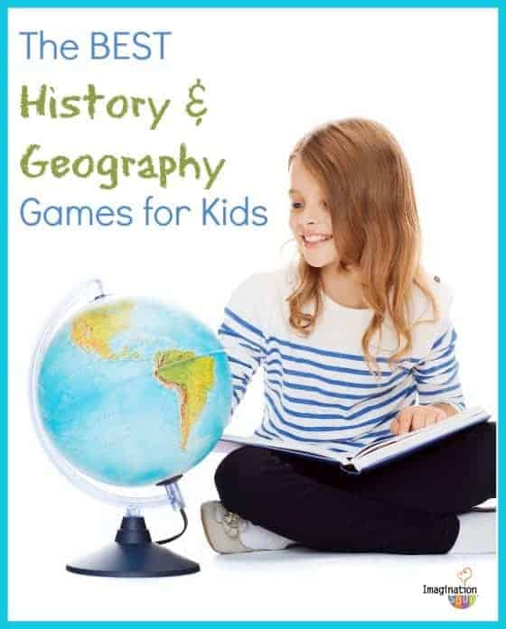 best history and geography games for kids