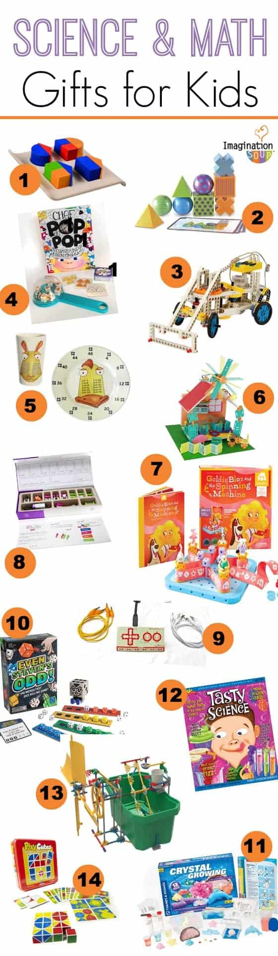 Science Educational Toys : Gift guide for kids math and science learning toys