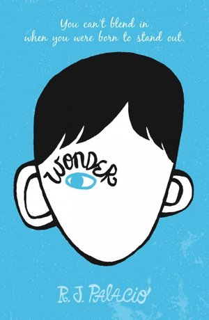 Wonder by R.J. Palacio best realistic books