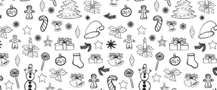 Printable Christmas Doodle Coloring Page Imagination Soup