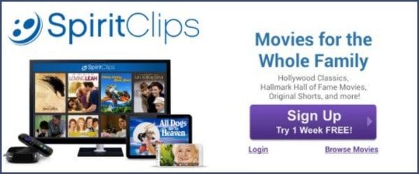 Hooray for Family Friendly SpiritClips Movies