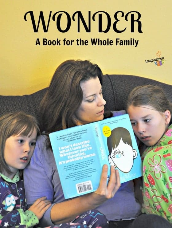 Wonder is a great family book to read and discuss