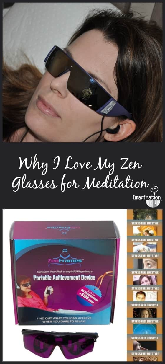 why I love my Zen Glasses for guided meditation