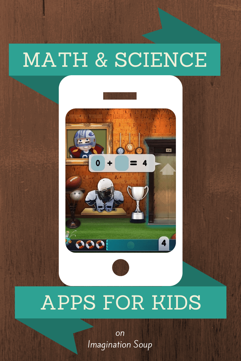 New math and science apps for kids