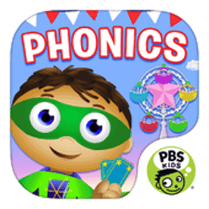 Super why Beginning Reading Apps for Kids