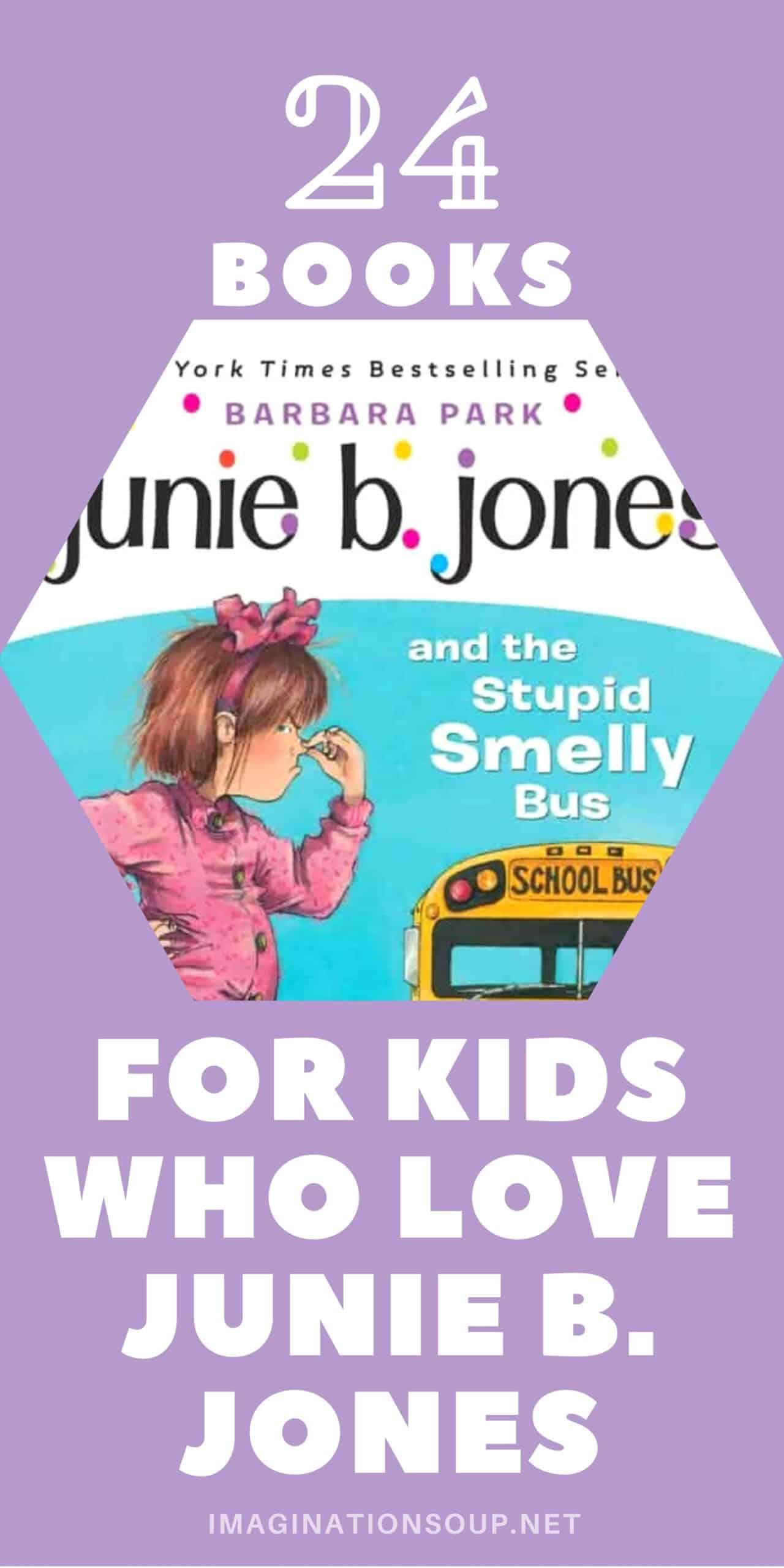 24 books for kids who love junie b jones