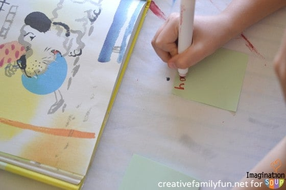 Wordless Picture Books Writing Prompt