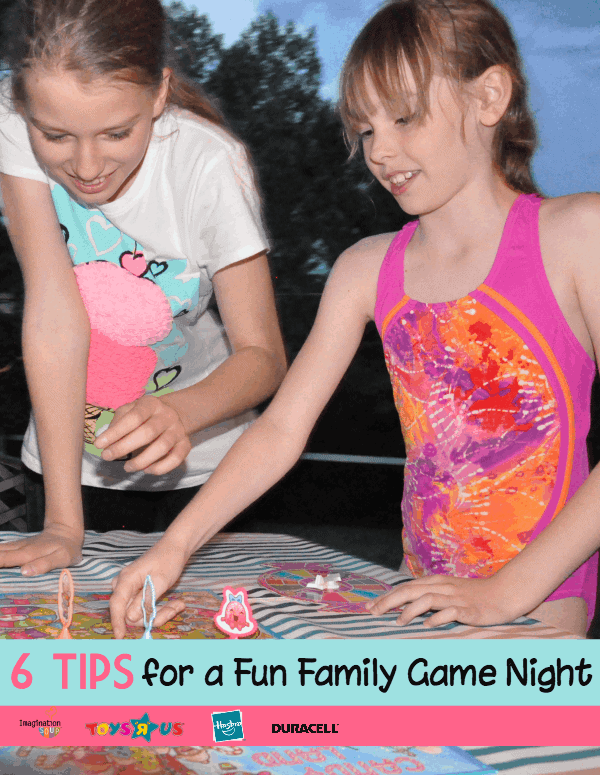 6 tips for family game night