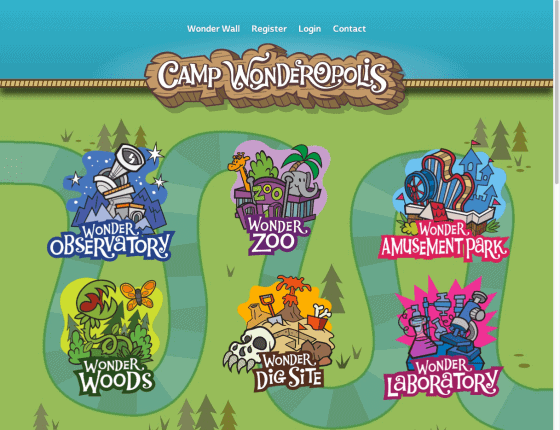 Camp Wonderopolis virtual summer camps