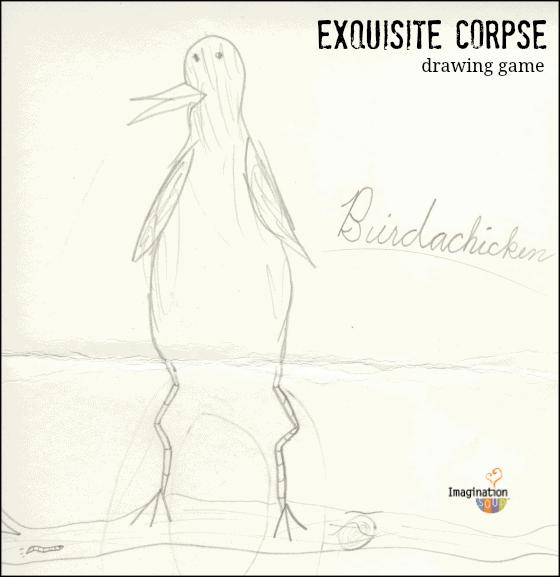 birdachicken exquisite corpse