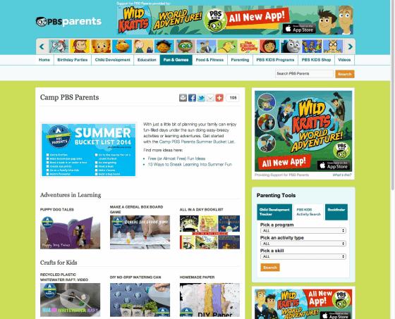 camp pos parents virtual summer camps