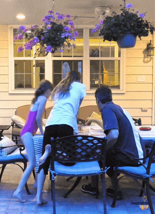 family game night outside