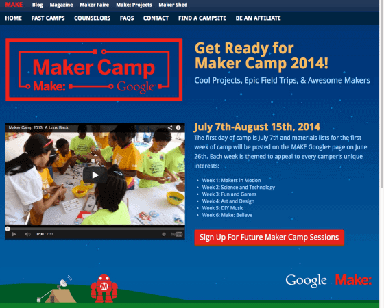 maker camp virtual summer camps