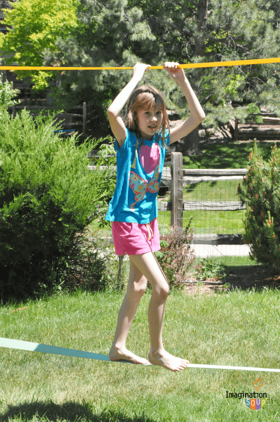 Why The Slackline Is Our Kids Favorite Backyard Activity