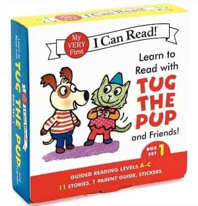 I Can Read Box Tug the Pup Set 1
