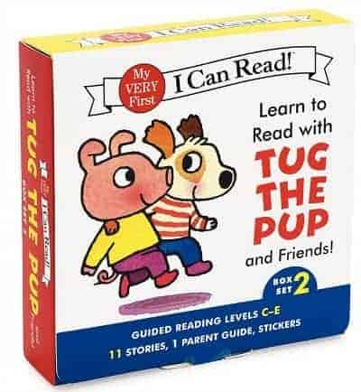 I Can Read Tug the Pup Box Set 2