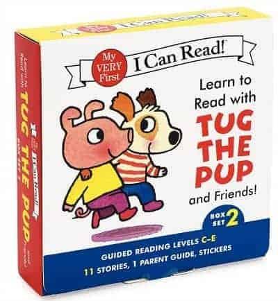 I Can Read Tug the Pup Box Set 2