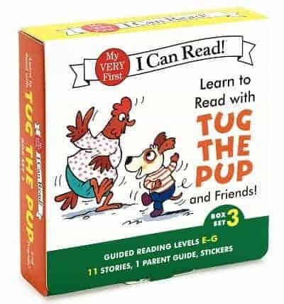 I Can Read Tug the Pup Box Set 3