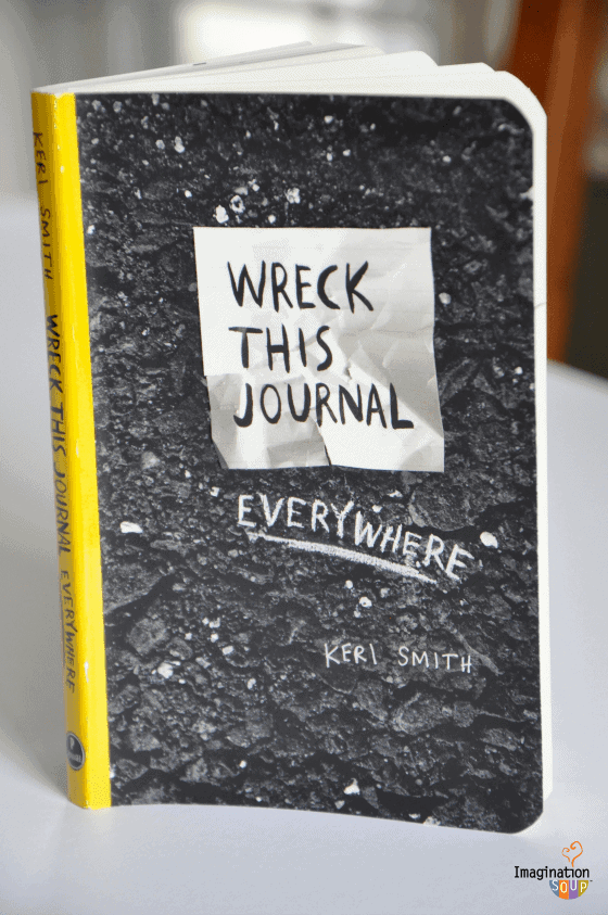 Classroom Writing Ideas ~ Will wreck this journal everywhere get your kids writing