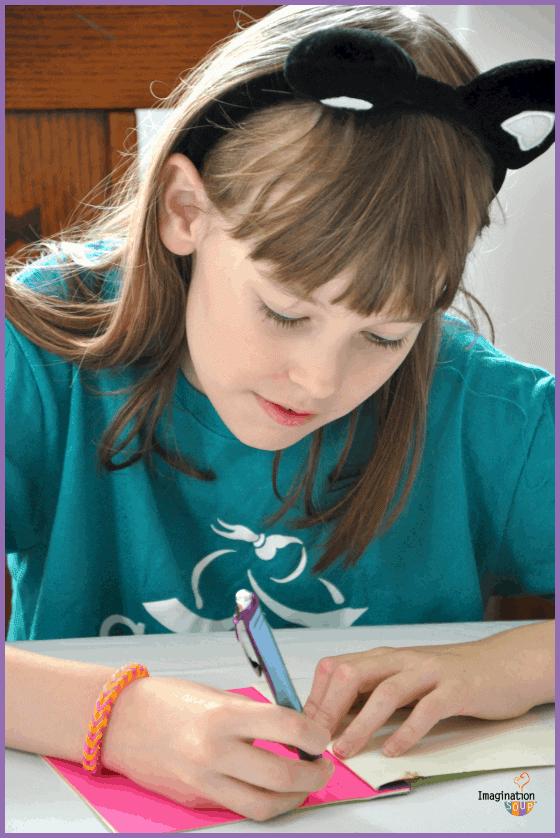 handmade summer learning journal