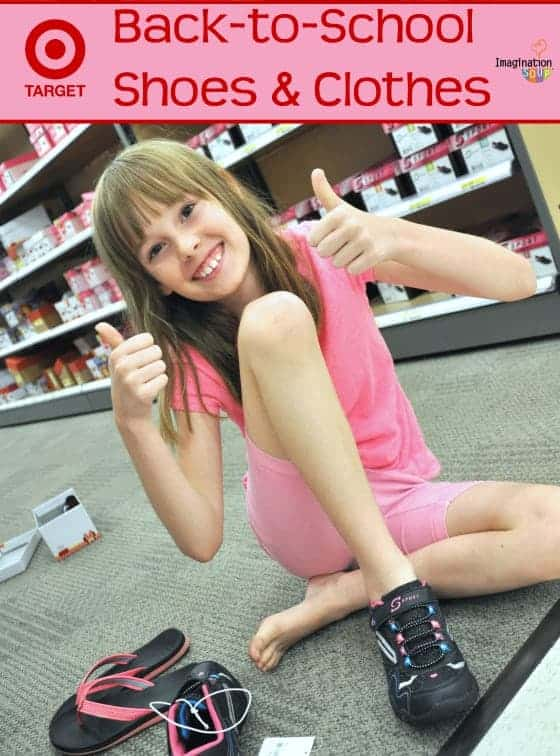 Back to School Shoes and Clothes with Target