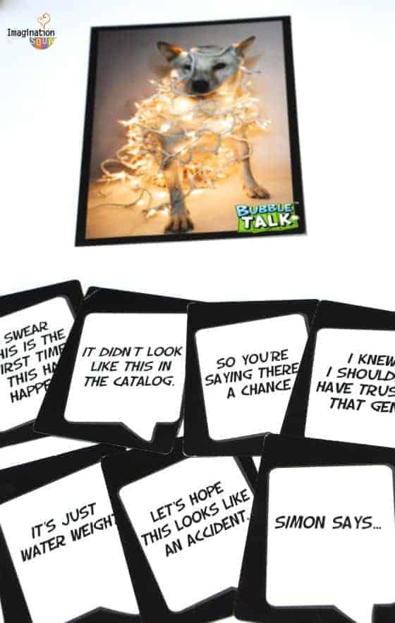 Bubble Talk game