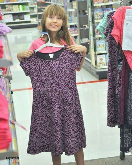 Back to School Clothes Shopping at Target | Imagination Soup