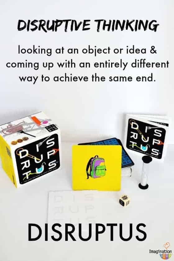 Disruptus Thinking Game